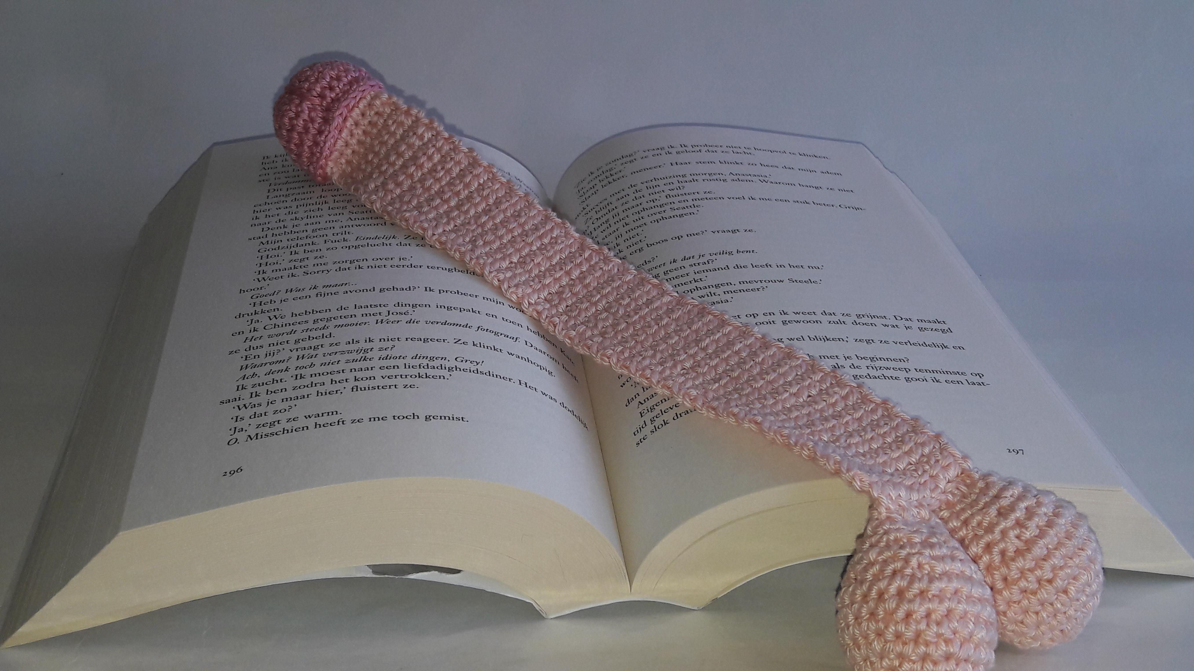 Boek van de grote penis
